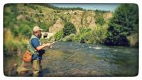 pêche devant le camping