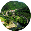 Camping de Chapeauroux dans les gorges du haut allier 48600 Chapeauroux - Saint bonnet de montauroux