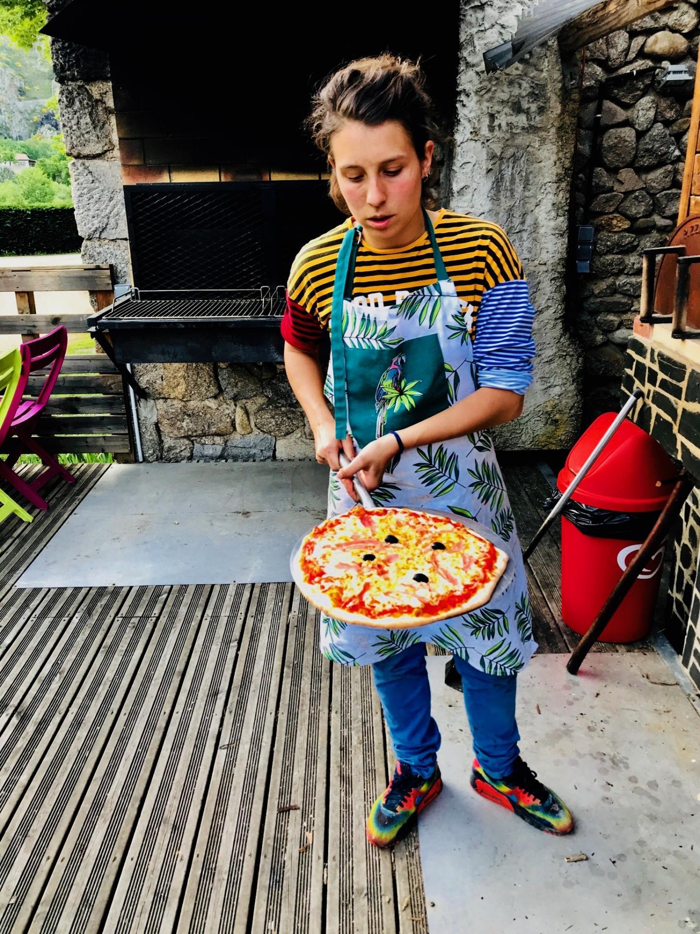 Pizza au four à bois selon calendrier !