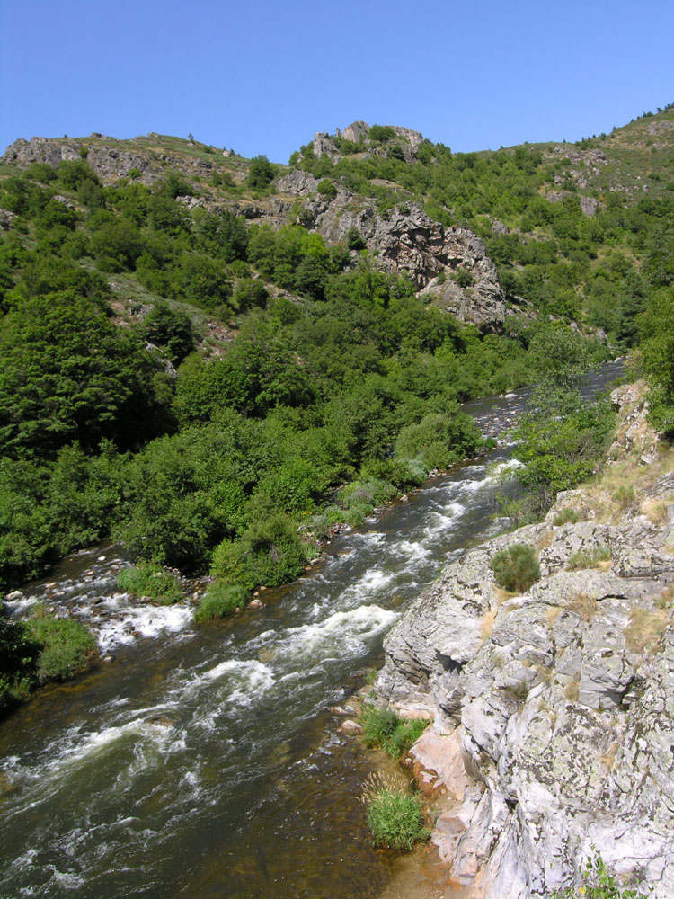 La rivière l'Allier