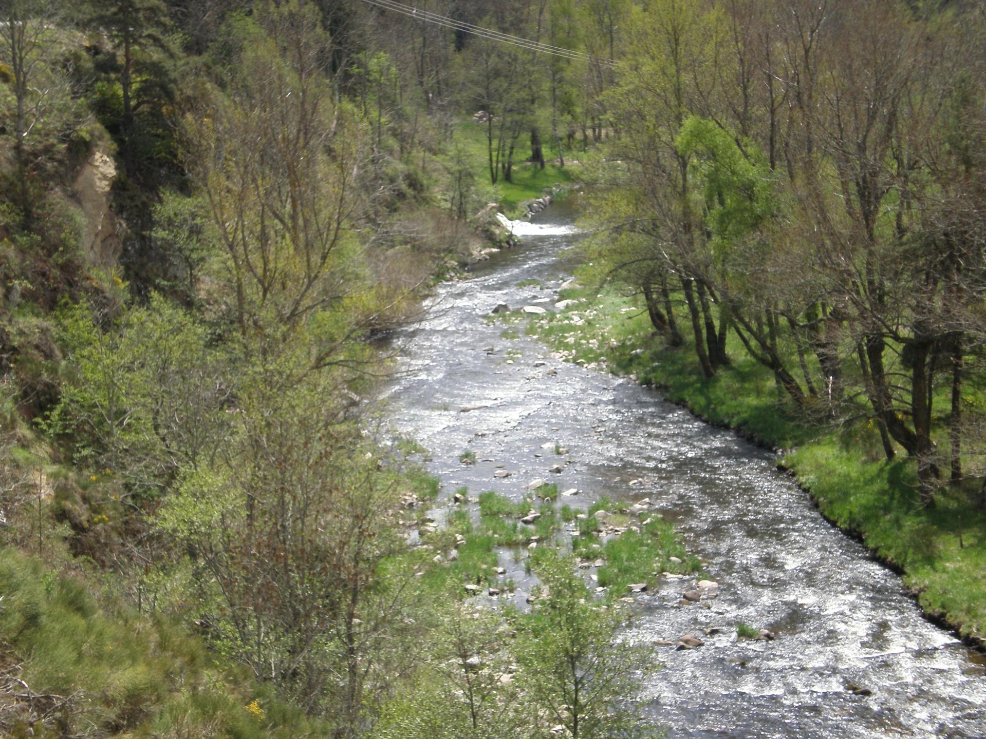 La rivière Le Chapeauroux